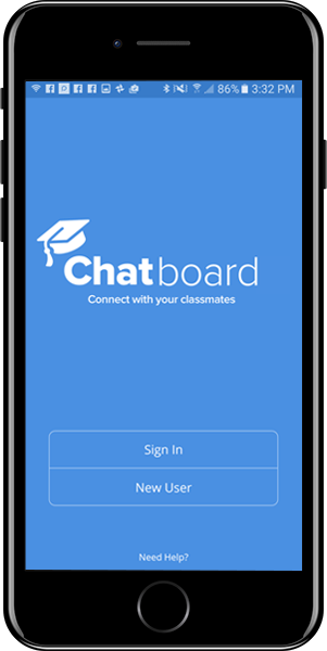 Chatboard - sign in