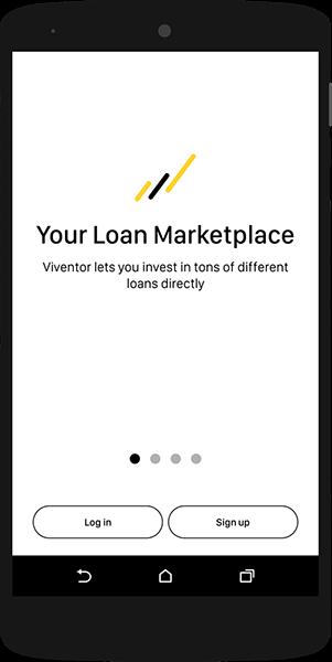 Viventor app - sign in