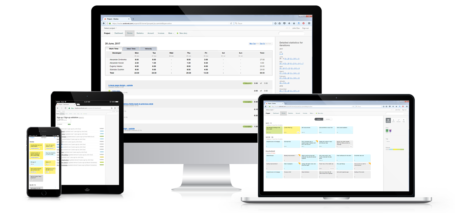 Tracker: web-based collaboration and project management tool