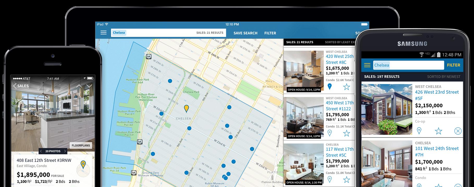 How to create app like StreetEasy