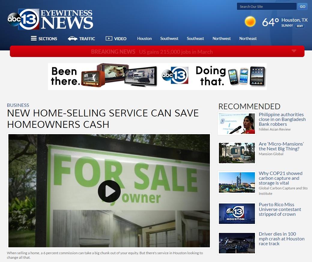ListingDoor on ABC-13 News