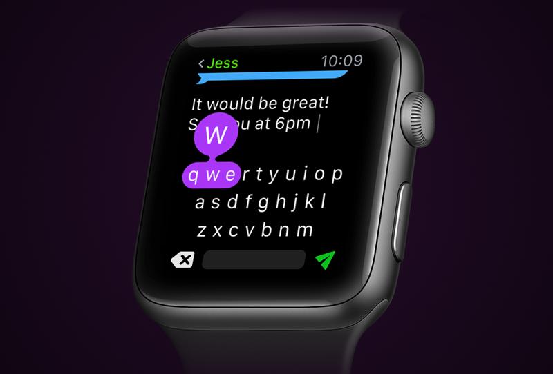Apple Watch Predictive Keyboard - Projects - Anadea
